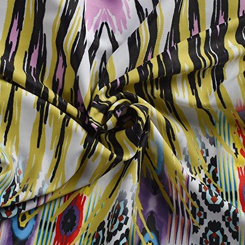 Blooming Jelly Tropical Tribal Impresión De Una Pieza Del Traje De Baño Traje De Baño De Las Mujeres