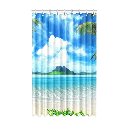 Image Unavailable Not Available For Color Living Room Decor Curtains Tropical
