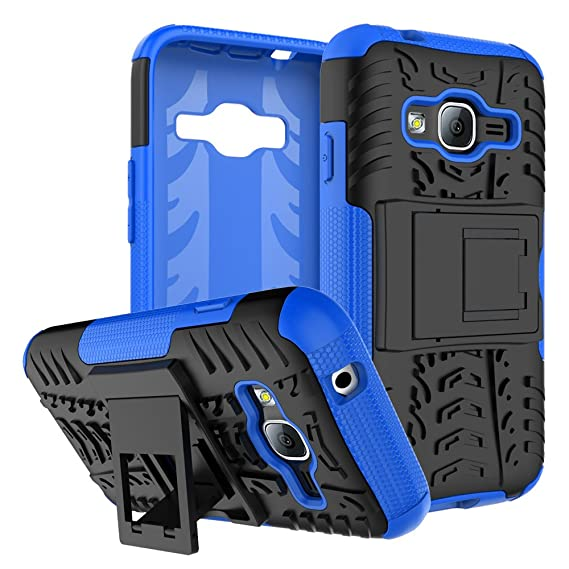 new arrival 2bd7f 797d7 Galaxy J1 mini Prime Case, Galaxy J1 mini Prime Hybrid Case, Dual Layer  Protection Shockproof Hybrid Rugged Case Hard Shell Cover with Kickstand  for ...