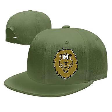 Animal Unisex Washed Twill Baseball Cap Adjustable Peaked Sandwich Hat