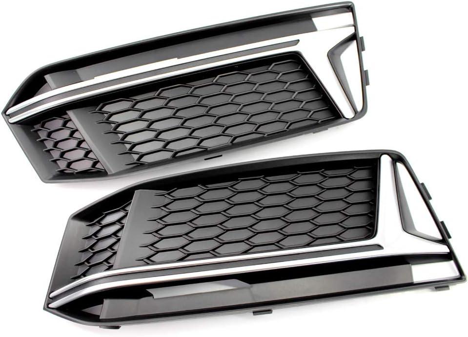 F/ür Ford Ecosport 2013 2014 2015 zxhLSA ABS Chrom Nebelscheinwerfer Abdeckung Rundum Nebelscheinwerfer Refitting Aufkleber
