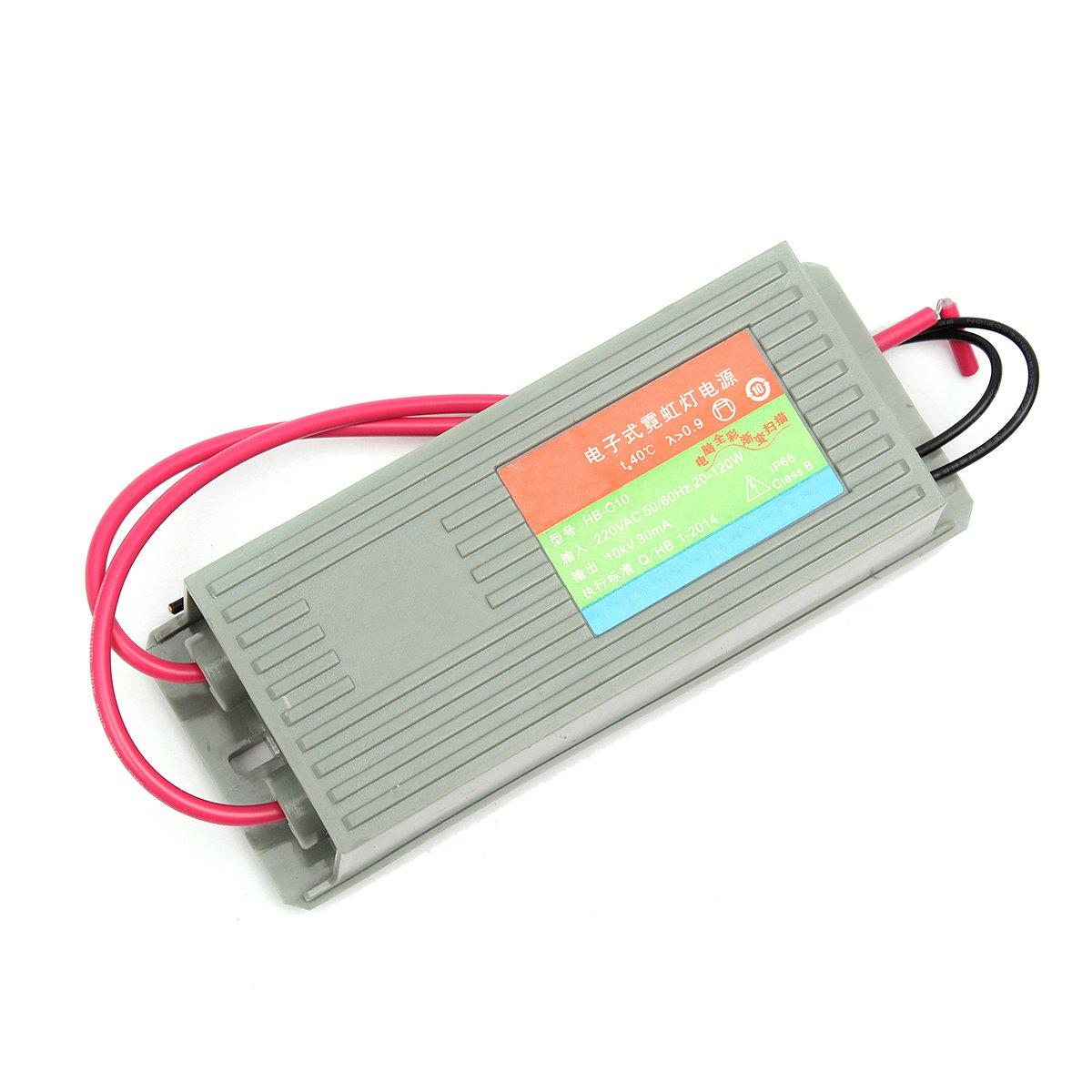JINHUGU Neon-Elektroniktrafo 10KV 30MA HB-C10 Neon-Stromversorgung Gleichrichter-Treiber LED-Licht