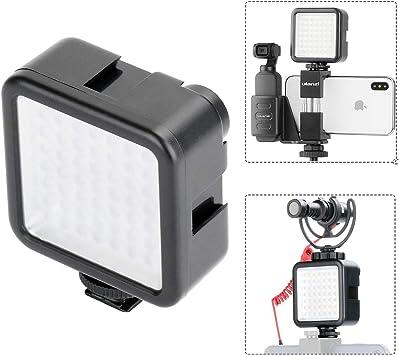 W49 Camera LED Video Light Lamp Hot Shoe Fill Lights For Smaretphone//Camera DSLR