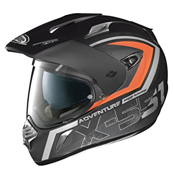 X-Lite X de 551 Adventure N- Com – Casco Integral, Color Negro
