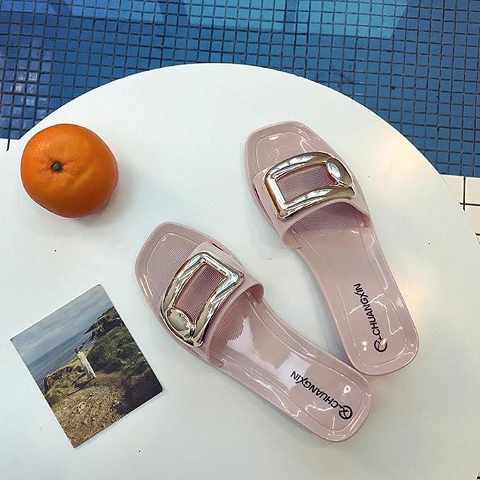 Schuhe Sandalen Flip Flop Pool Slip-on Sommerschuhe Strandschuhe Indoor Heiß