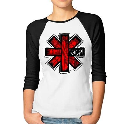 Raglan Red Baseball De Chili T Pour Shirt Femme Peppers Hot Mbmh WEQdBeorCx
