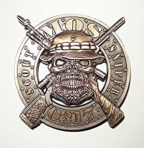 Scout Sniper 0317 Marine MOS Skull Challenge Coin