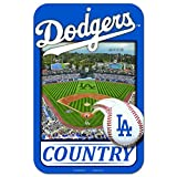11X17 Country Plastic Street Sign MLB Los Angeles Dodgers