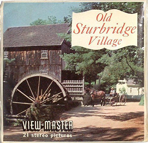 Old Sturbridge Village Massachusetts 3d View-Master 3 Reel Packet