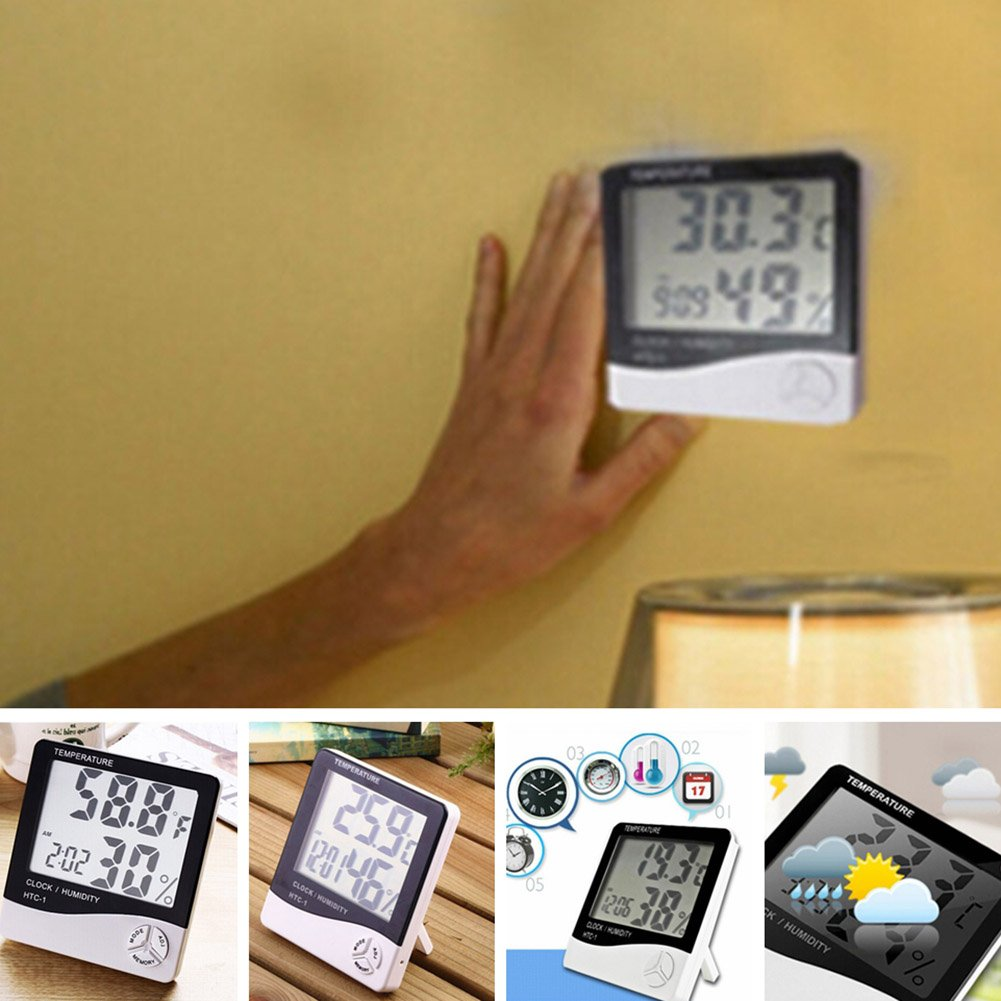 Thermometers & Meteorological Instruments Garden & Outdoors ...