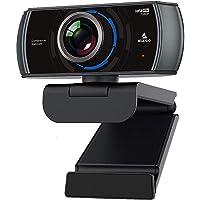 NexiGo Webcam 1080P 60FPS con micrófono, cámara web USB FHD, micrófonos integrados de reducción de ruido, gran angular…