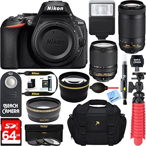 nikon-d5600-242mp-dx-format-dslr-camera-af-s-18-140mm-70-300mm-ed-vr-lens-accessory-bundle
