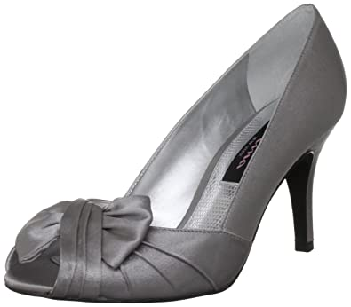 Nina Women's Rumina Dress Pump Yssilver Size 6.5