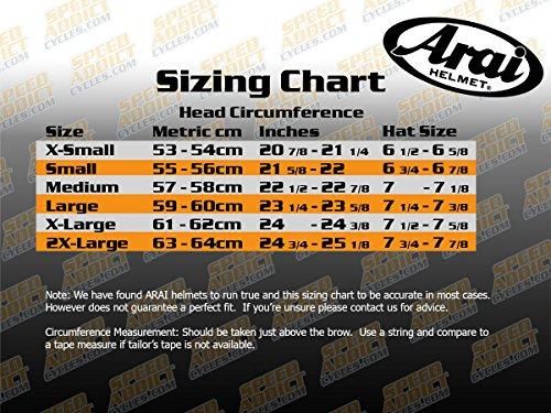 Arai XD4 Mesh Orange Dual Sport Helmet - X-Large by Arai (Image #2)