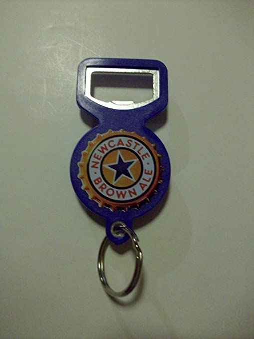 New Castle Brown Ale Tool Opener//Key Chain//Closer