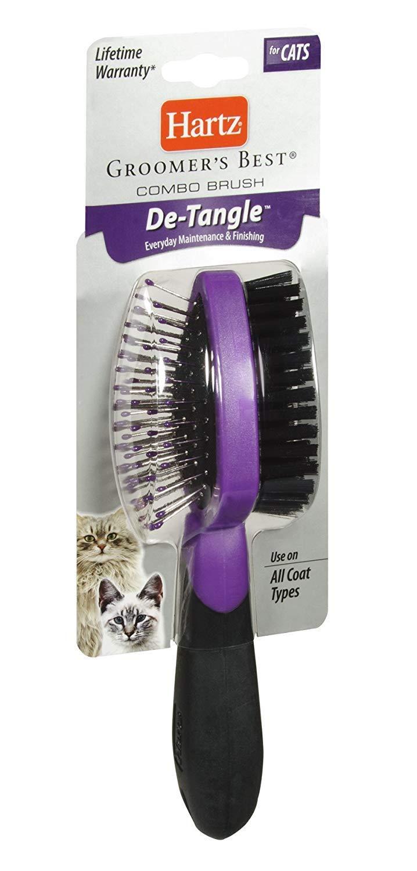 Hartz 12414 Combo Brush for Cats