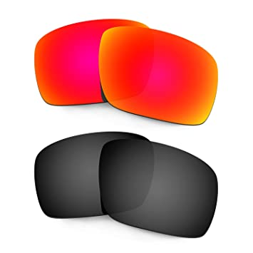 HKUCO Mens Replacement Lenses For CpiVlvlZIO Triggerman Sunglasses Red Polarized 3OuARSZXZ