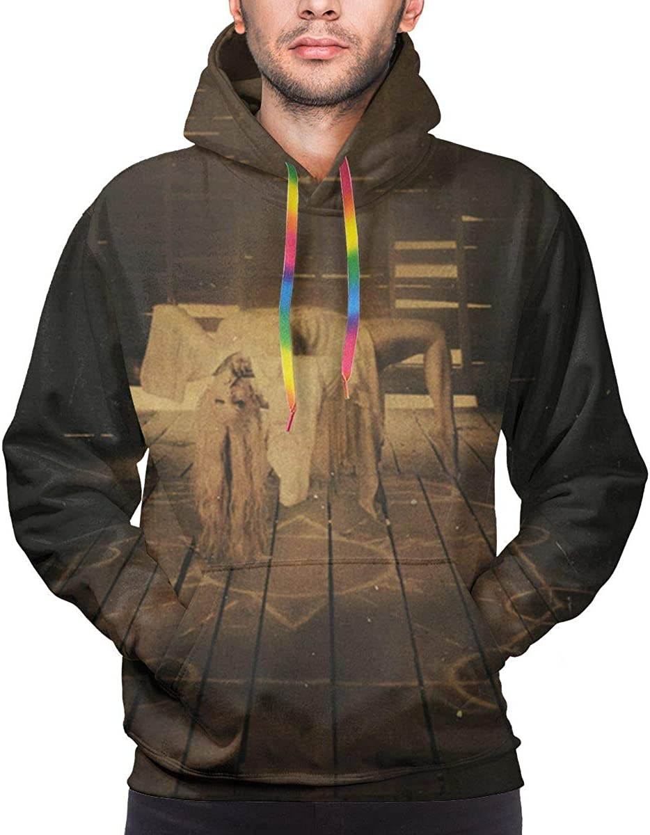 CHASIHAO in This Moment Ritual Mens Hoodie Black