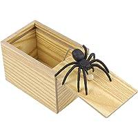 YeahiBaby Caja de Araña de Madera Caja
