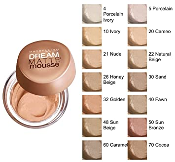 maybelline cameo foundation