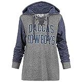 Dallas Cowboys Women's Size Medium Lightweight Hooded Sweatshirt - Navy Blue