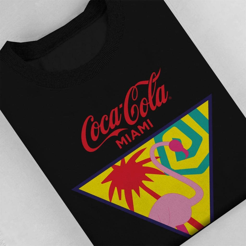 Coca-Cola Miami Flamingo Mens Sweatshirt