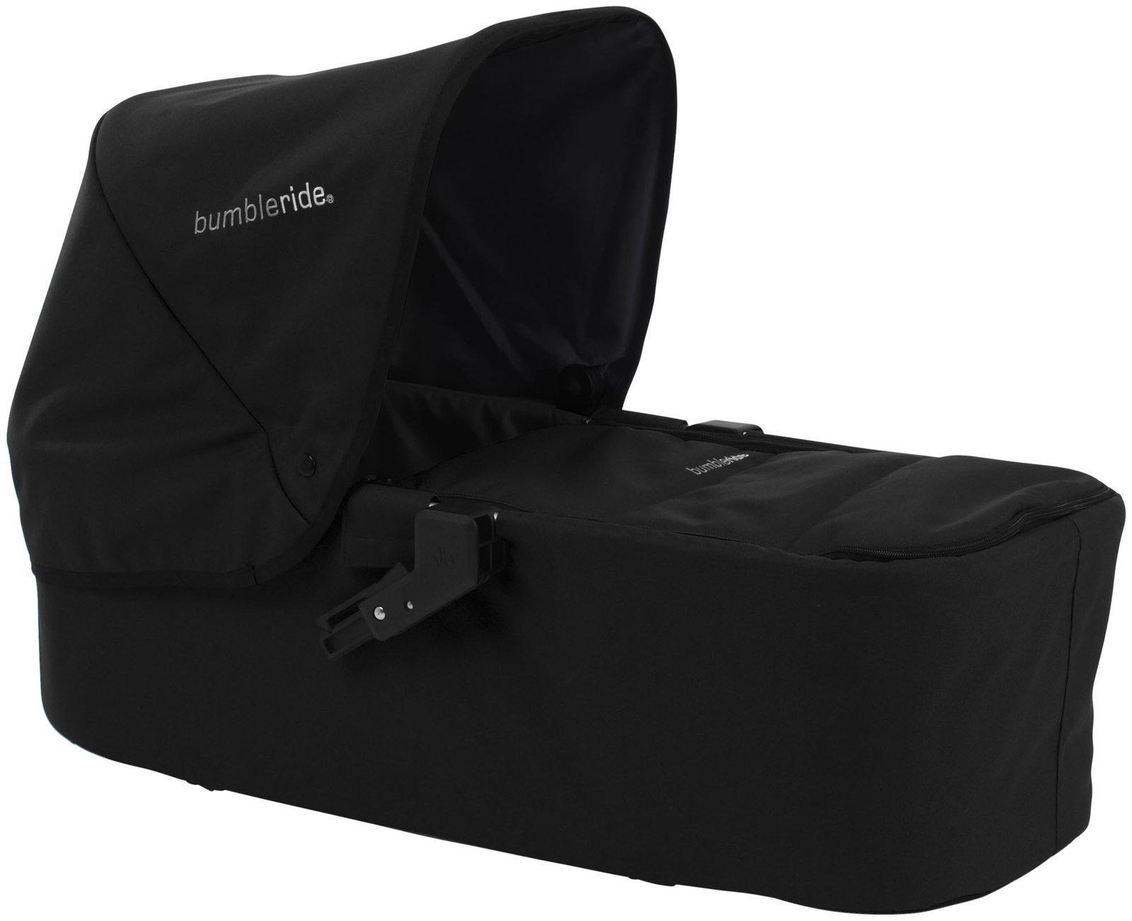 Bumbleride Indie Carrycot, Jet Black
