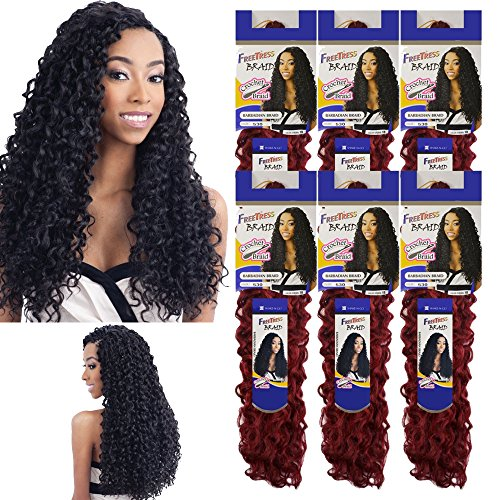 Barbadian Crochet FreeTress Synthetic Braiding product image