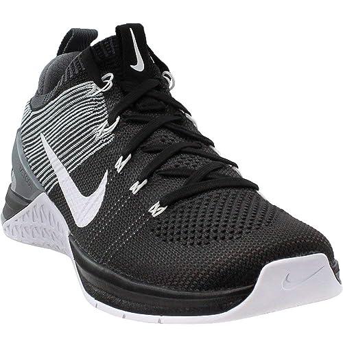 Nike Metcon Dsx Flyknit 2, Zapatillas de Deporte para Hombre, (Black/White/Dark Wolf Grey 010), 44 EU: Amazon.es: Zapatos y complementos