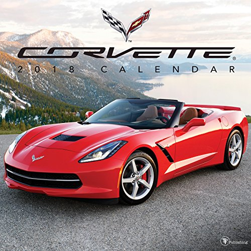 2018 Corvette Wall Calendar cover