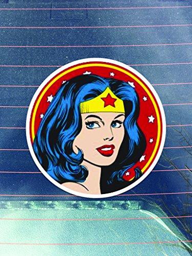 Retro Wonder Woman Vinyl Decals Sticker  | Cars Trucks Vans