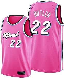 NBALL-HU Camiseta De Baloncesto para Hombre, Miami Heat ...