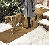 EXTRA WIDE NO SLIP ICE AND SNOW CARPET (10 FEET LONG X 30 INCHES WIDE) ...