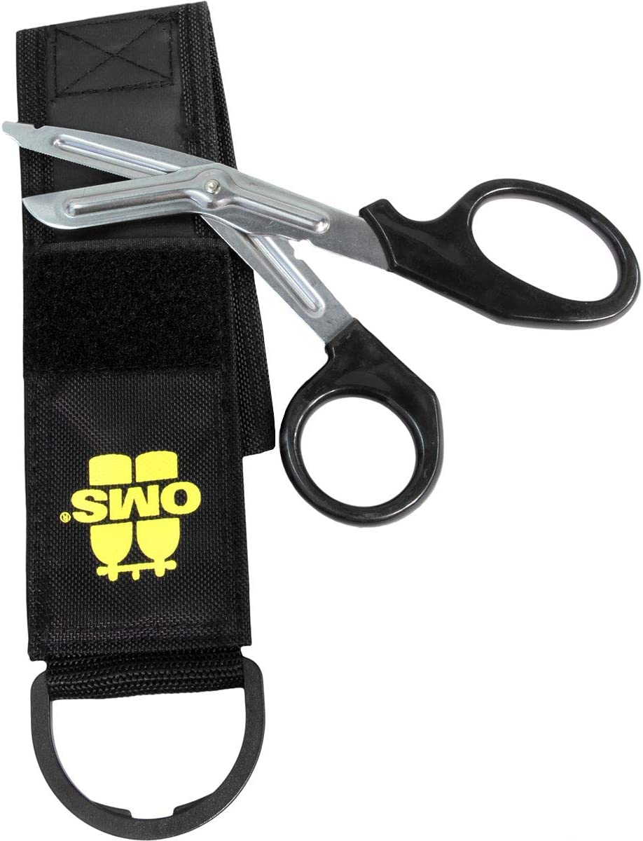 Scuba Storage Pouch With Scissors
