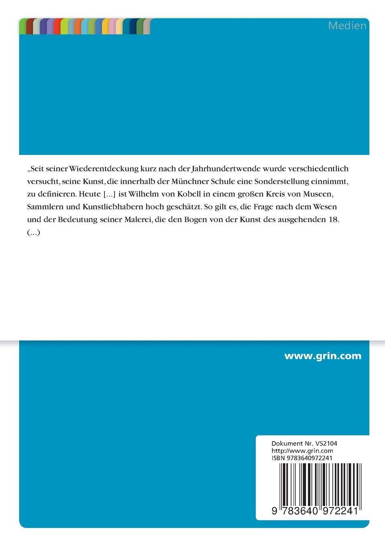 Wilhelm von Kobell - Das mathematische Substrat der Landschaft (German Edition)