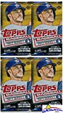#9: 2017 Topps Series 1 MLB Baseball Lot of FOUR(4) Factory Sealed HOBBY Foil Packs with 40 Cards! Brand New! Every Pack includes an Insert or Parallel Card! Look for Autograph and Relic Cards! Wowzzer!
