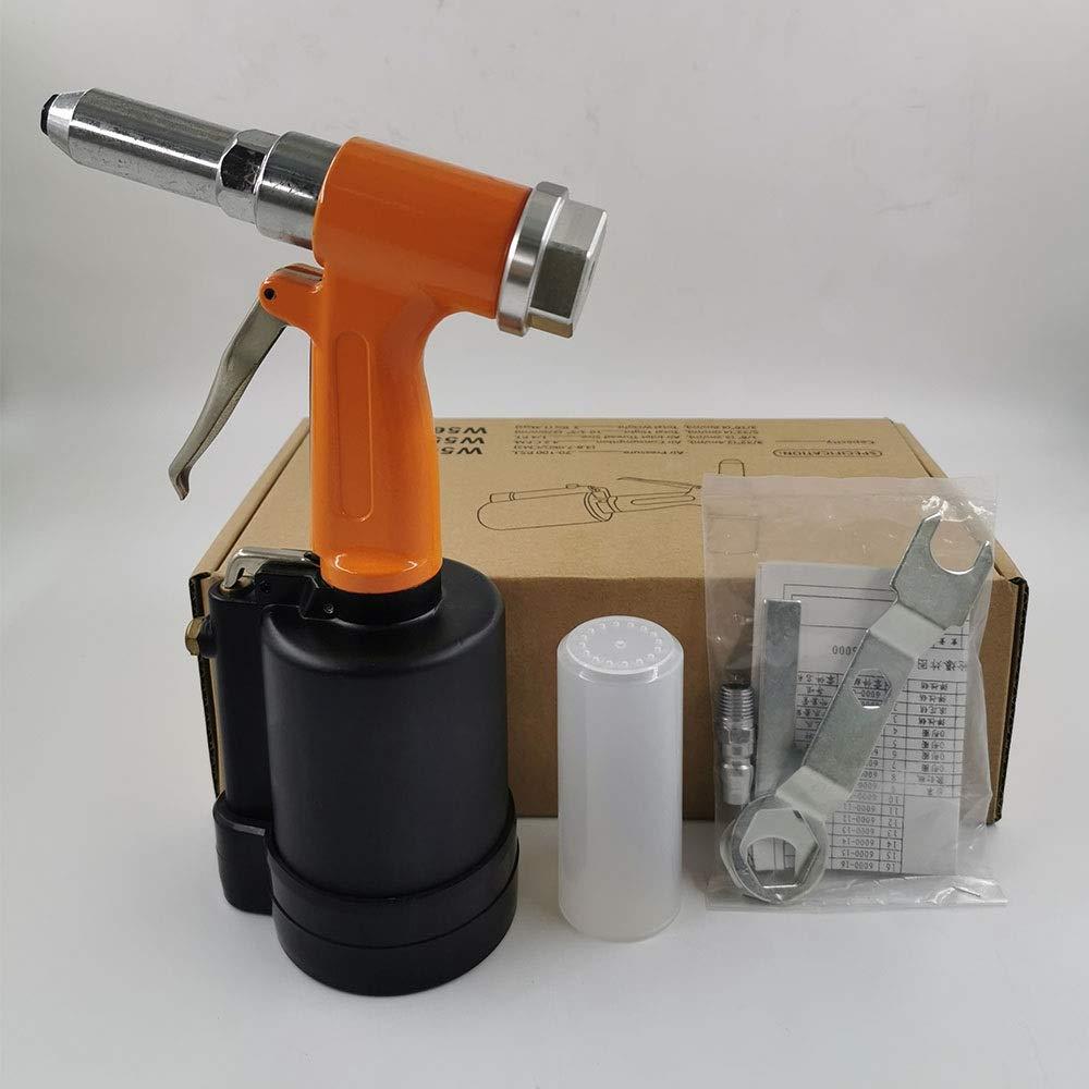 Vertical Rivet Gun, Decoration Nail Gun Pneumatic Tool Industrial Grade Hand Tool (Color : Orange) by XIAOL-Pneumatic Tool