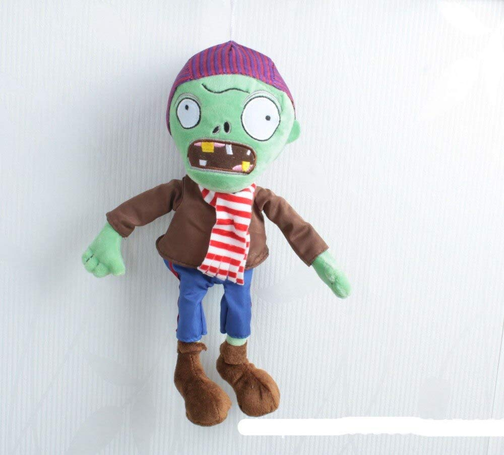 RAFGL 5Pcs/Lot Plants Vs Zombies Plush Toys 30Cm PVZ Zombies Stuffed Plush Dolls Catcher Kids Children Gifts Toys Tfa1219 Must Haves for Kids Funny Gifts The Favourite Anime by RAFGL