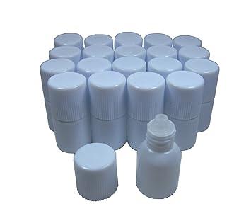 Amazon.com: Botella de plástico vacía viales cuentagotas ...