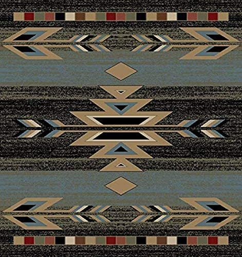 Mayberry Rugs Rio Grande Area Rug, 5 3 x7 3 , Ebony