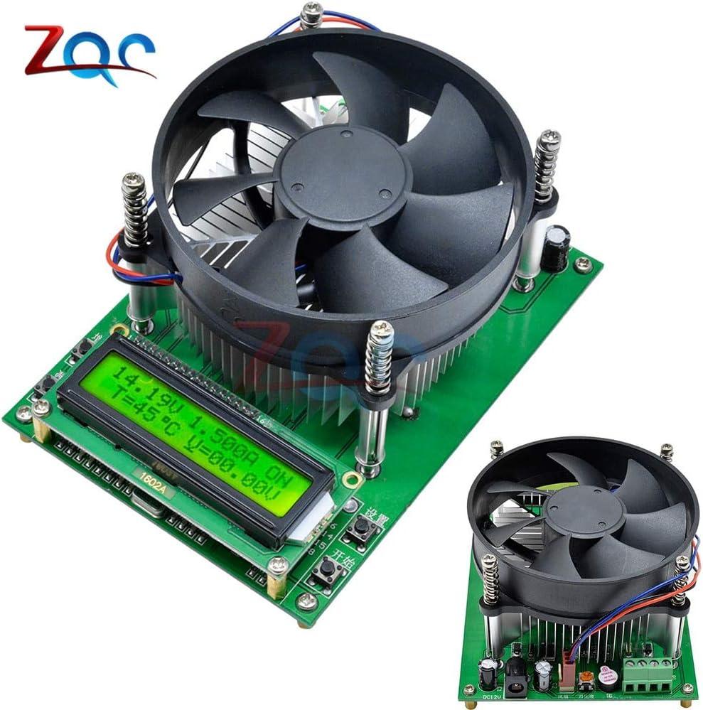 150W Corriente constante Carga electrónica 60V 10A Probador de batería Capacidad de descarga Medidor de prueba 12V 24V 48V