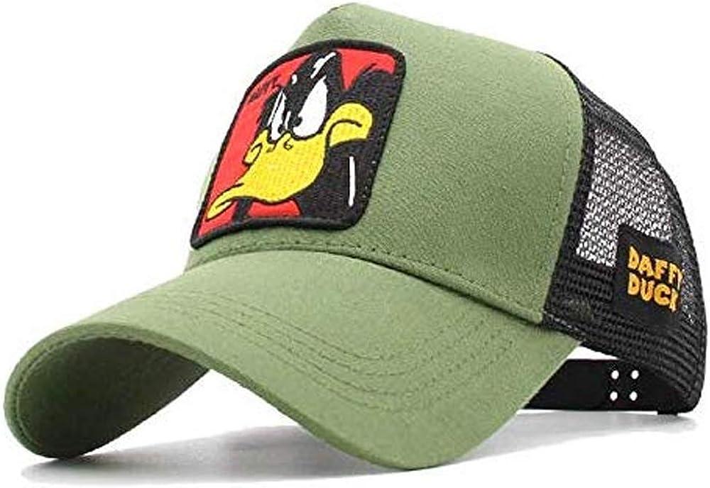 newfashion Gorra Visera Curva Trucker Looney Tunes Pato Lucas ...