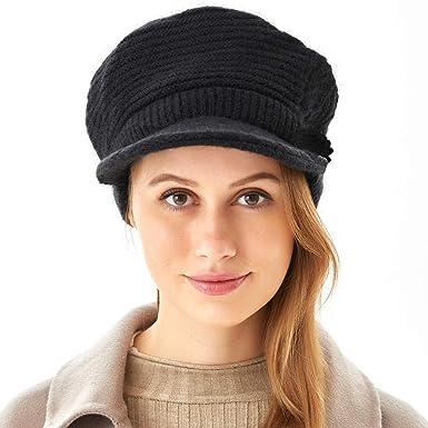 Girls Cute Wool Beret Autumn Winter Women Warm Painter Hat Beanie Hat Ski Cap