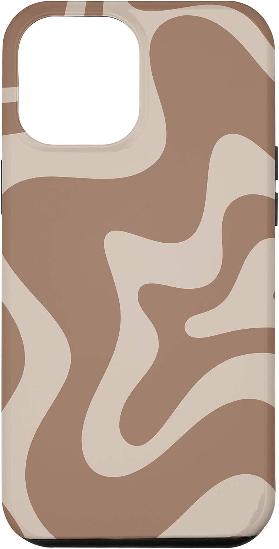 iPhone 12 Pro Max Pattern in Creamy Milk Chocolate Brown Case