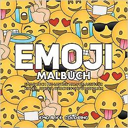 Emoji Malbuch Emoji Buch Mit Collagen Mit Lustige Malvorlagen Fur
