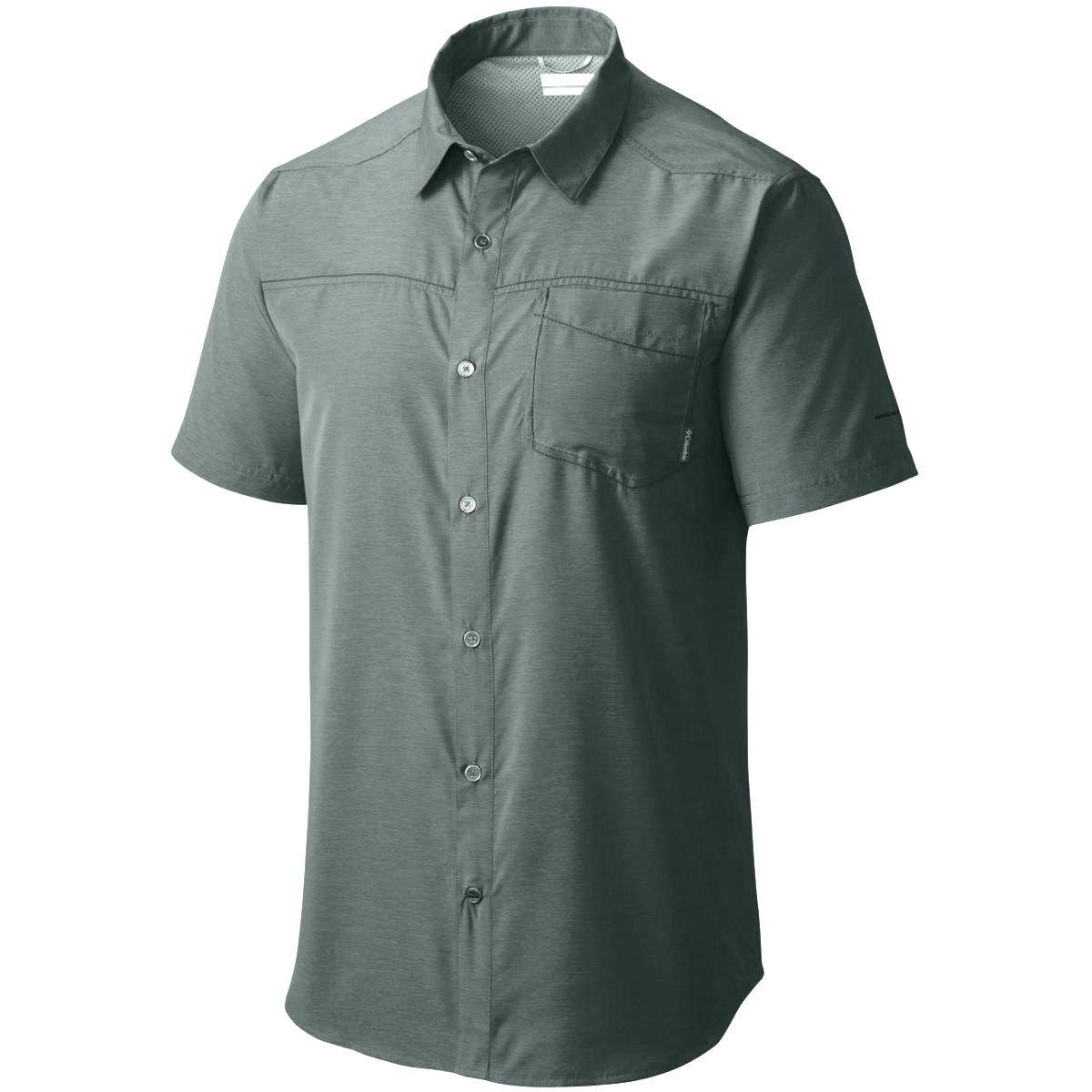 Columbia Mens Pilsner Peak Short Sleeve Shirt