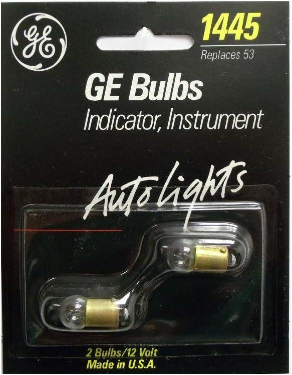 GE General Electric 53 12V Miniature Bayonet  Blub Lamp Lot of 3 New