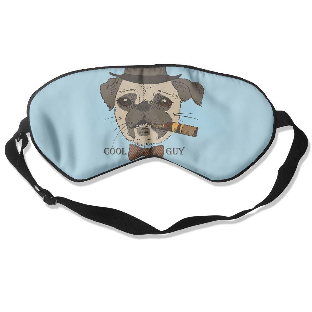 MB32 Sleep Mask Cool Guy Eye Cover Blackout Eye Masks,Soothing Puffy Eyes,Dark Circles,Stress,Breathable Blindfold For Women Men