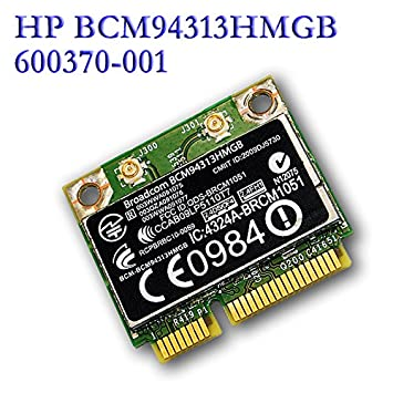 for HP Broadcom BCM4313 Mini PCIe 802.11n Bluetooth BCM94313HMGB 600370-001 Wifi Half 2.4 GHz 802.11b/g/n