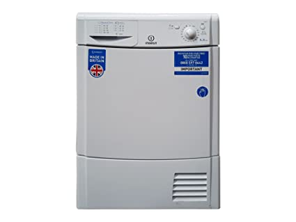 Indesit Dryers 8 Kg Condenser Timed B Led Amazon Co Uk Large